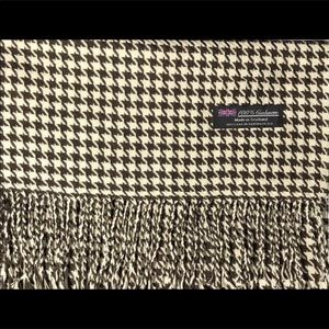Luxury 100% Cashmere Vintage Scarf From Scotland